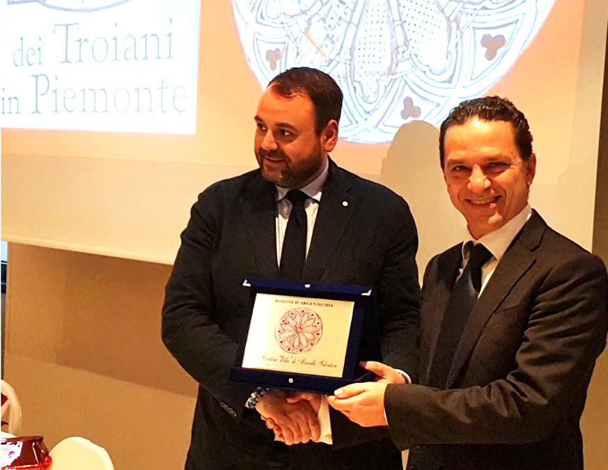 (Italiano) Elda Cantine: Marcello Salvatori premiato con il Rosone d'Argento 2018